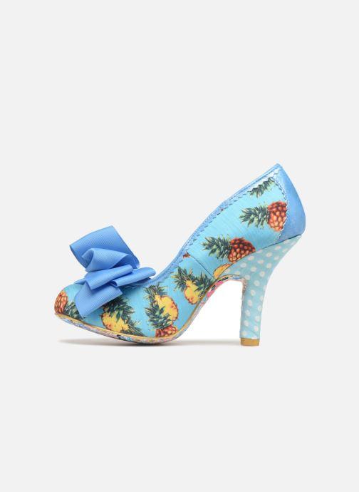 High heels Irregular choice Ascot Blue front view