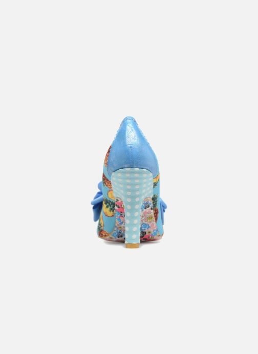 High heels Irregular choice Ascot Blue view from the right