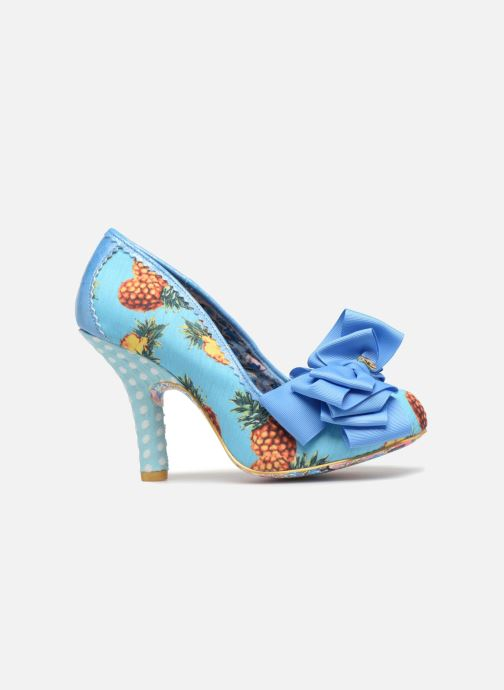 High heels Irregular choice Ascot Blue back view