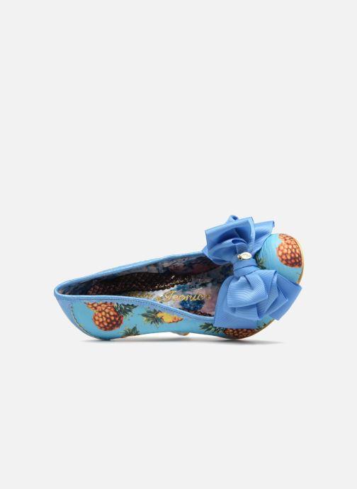 Escarpins Irregular Choice Ascot Bleu vue gauche