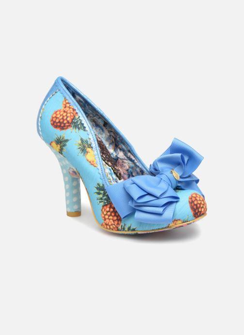 High heels Irregular choice Ascot Blue detailed view/ Pair view