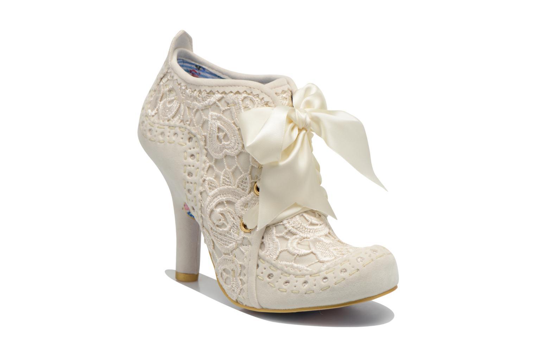 Chaussures à lacets Irregular Choice Abigail's Third Party Blanc vue détail/paire