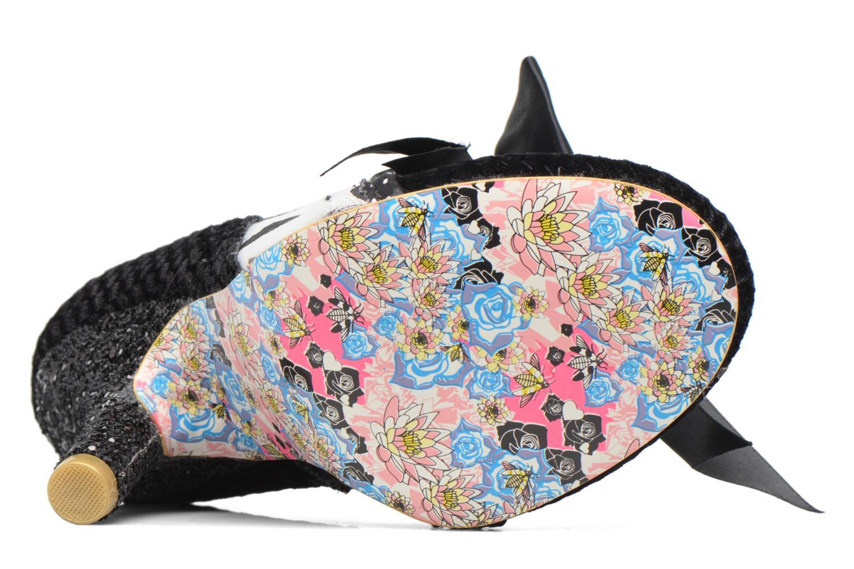 Zapatos con cordones Irregular choice Abigail's Third Party Negro vista de arriba