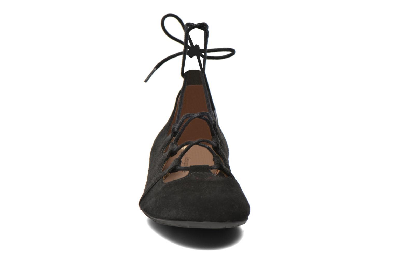 Ballerines Georgia Rose Calies Noir vue portées chaussures