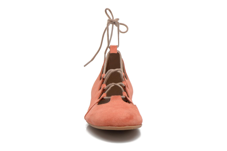 Ballerines Georgia Rose Calies Rose vue portées chaussures