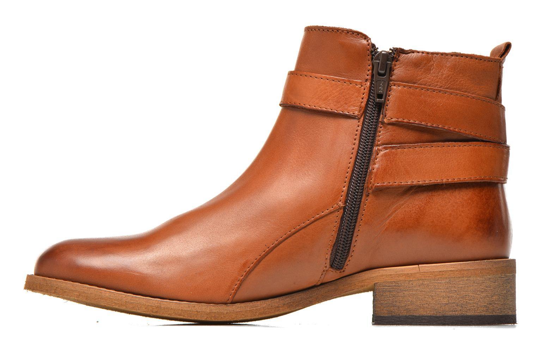 Bottines et boots Georgia Rose Colery Marron vue face