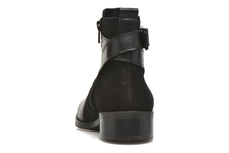 Bottines et boots Georgia Rose Colery Noir vue droite