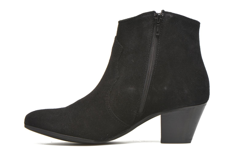 Bottines et boots Georgia Rose Ceceki Noir vue face