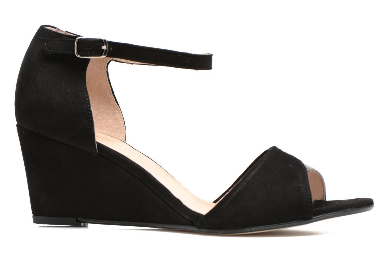 Sandales et nu-pieds Georgia Rose Lilika Noir vue derrière