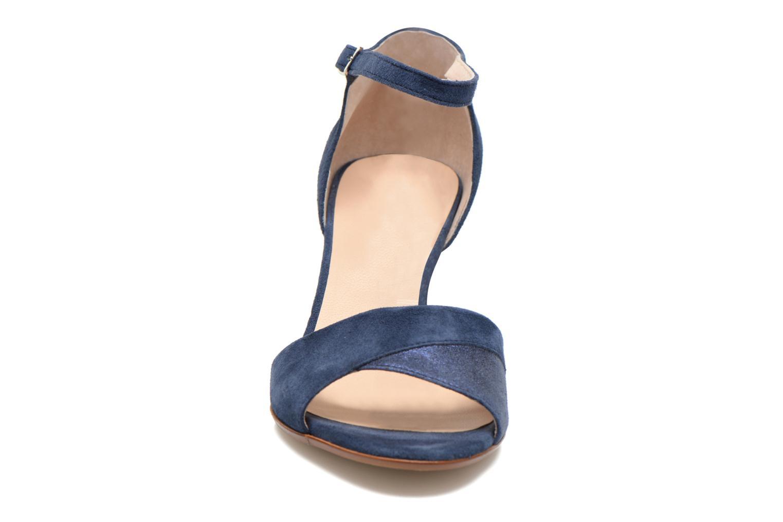 Sandales et nu-pieds Georgia Rose Lilika Bleu vue portées chaussures
