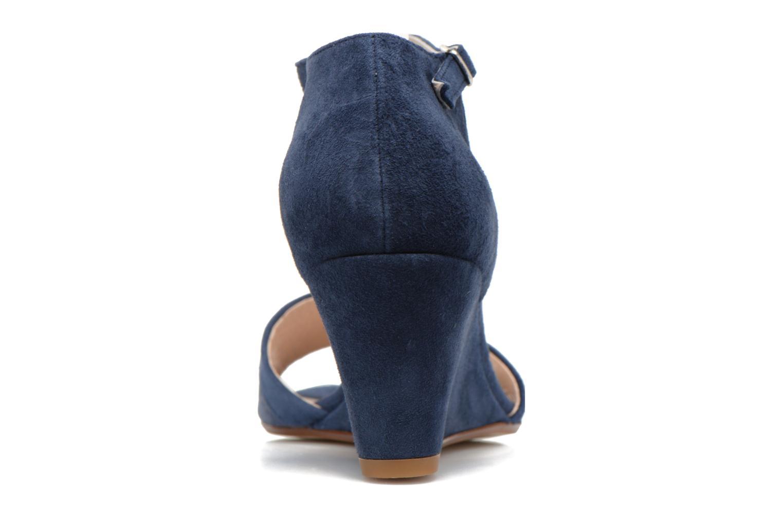 Sandales et nu-pieds Georgia Rose Lilika Bleu vue droite