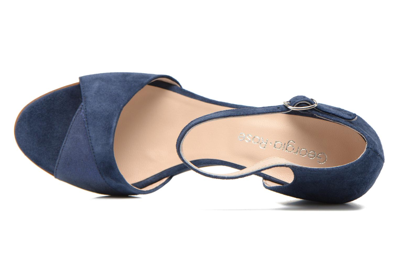 Sandales et nu-pieds Georgia Rose Lilika Bleu vue gauche
