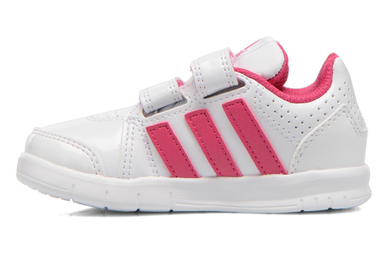 Chaussures de sport Adidas Performance LK Trainer 7 CF I Blanc vue face