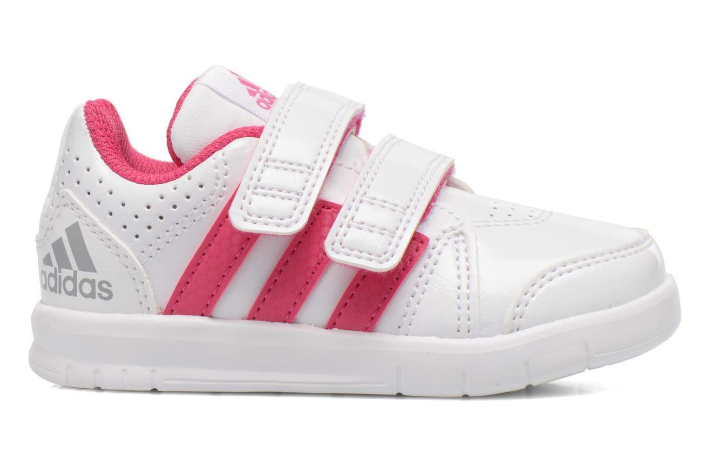 Chaussures de sport Adidas Performance LK Trainer 7 CF I Blanc vue derrière