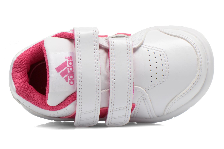 Chaussures de sport Adidas Performance LK Trainer 7 CF I Blanc vue gauche