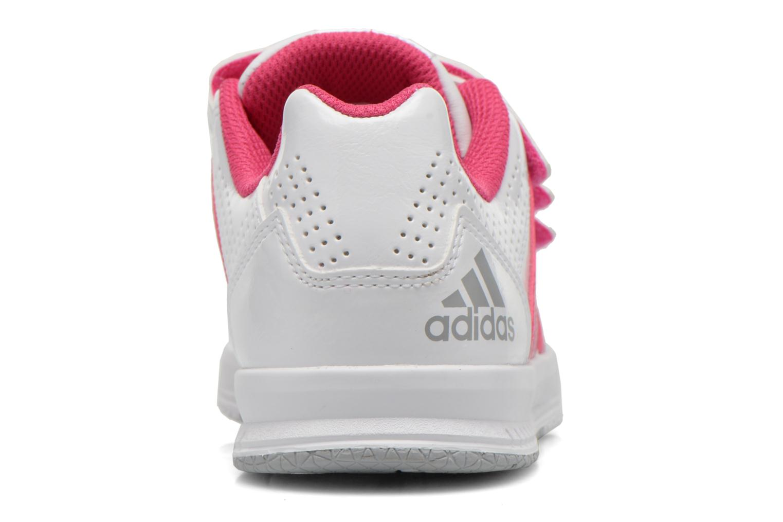 Sportschoenen Adidas Performance LK Trainer 7 CF K Wit rechts