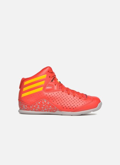 Scarpe sportive adidas performance NXT LVL SPD IV NBA K Rosso immagine posteriore