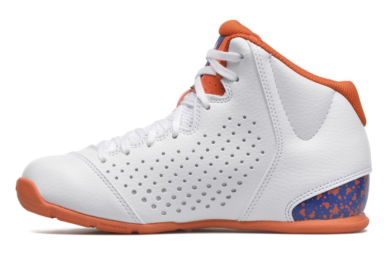Chaussures de sport Adidas Performance NXT LVL SPD IV NBA K Blanc vue face