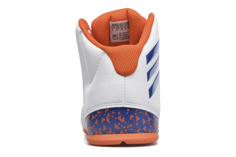Chaussures de sport Adidas Performance NXT LVL SPD IV NBA K Blanc vue droite