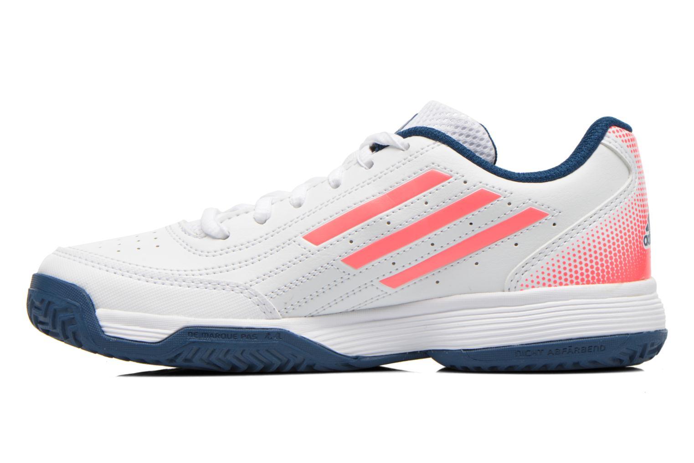 Scarpe sportive Adidas Performance Sonic Attack K Bianco immagine frontale
