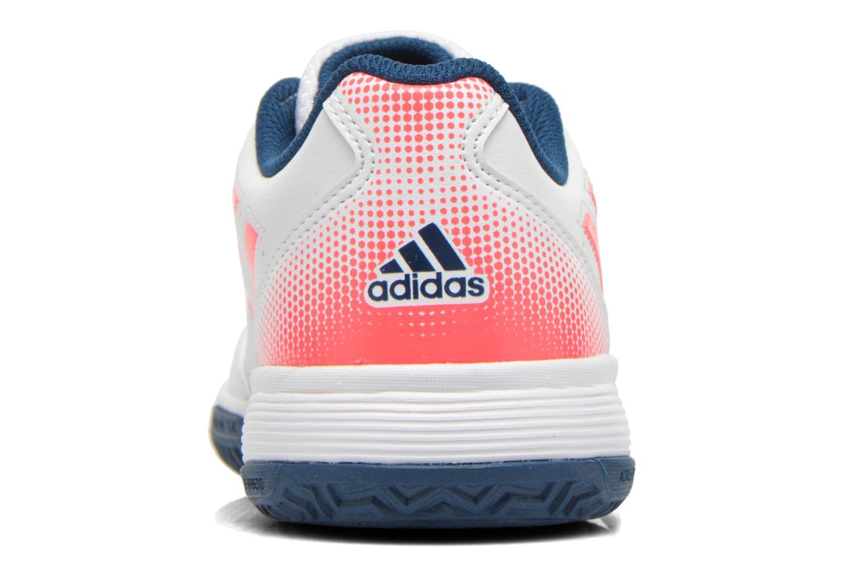 Scarpe sportive Adidas Performance Sonic Attack K Bianco immagine destra