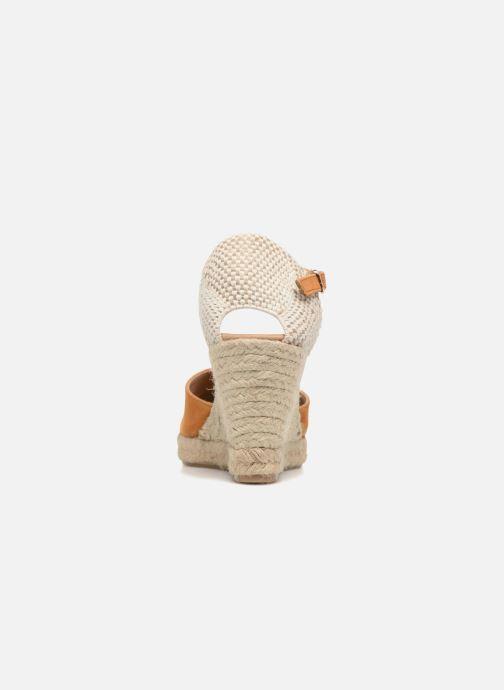 Sandales et nu-pieds Georgia Rose Iponiki Marron vue droite