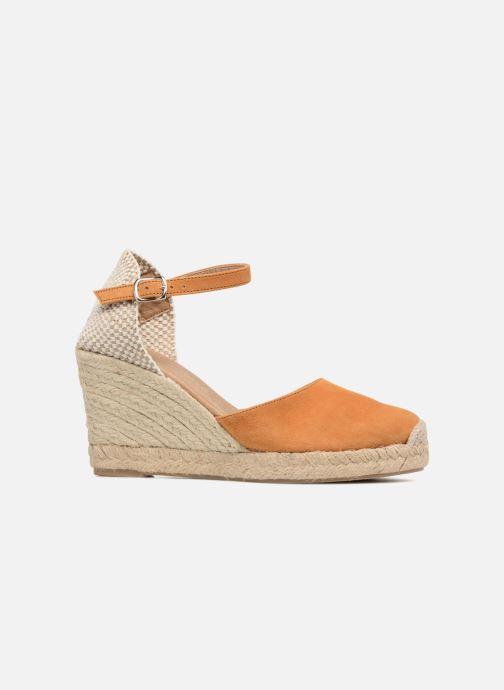Sandales et nu-pieds Georgia Rose Iponiki Marron vue derrière