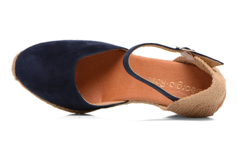 Sandali e scarpe aperte Georgia Rose Iponiki Azzurro immagine sinistra