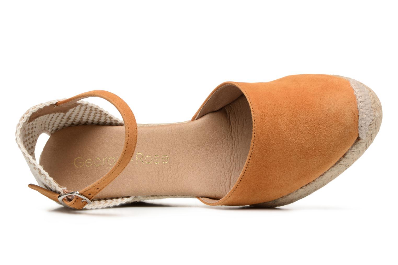Sandali e scarpe aperte Georgia Rose Iponiki Marrone immagine sinistra