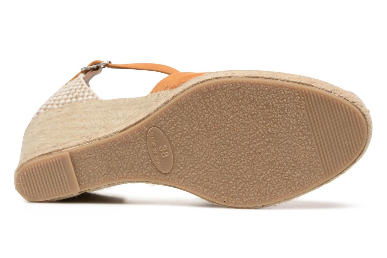 Sandali e scarpe aperte Georgia Rose Iponiki Marrone immagine dall'alto