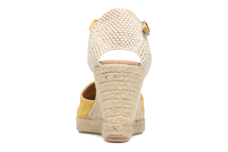 Sandales et nu-pieds Georgia Rose Iponiki Jaune vue droite