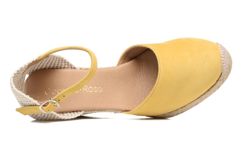 Sandales et nu-pieds Georgia Rose Iponiki Jaune vue gauche
