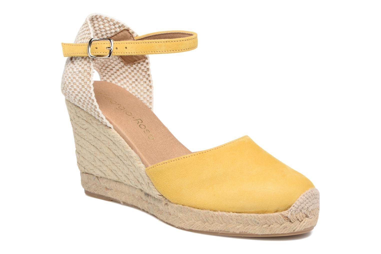 Sandales et nu-pieds Georgia Rose Iponiki Jaune vue détail/paire