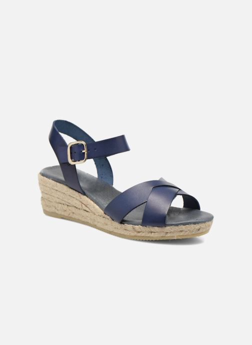 Sandales et nu-pieds Georgia Rose Inof Bleu vue détail/paire