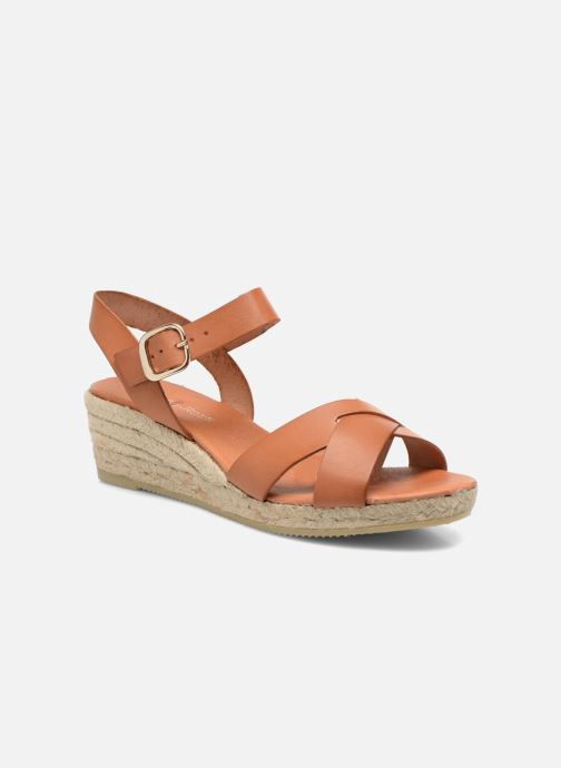 Sandales et nu-pieds Georgia Rose Inof Marron vue détail/paire
