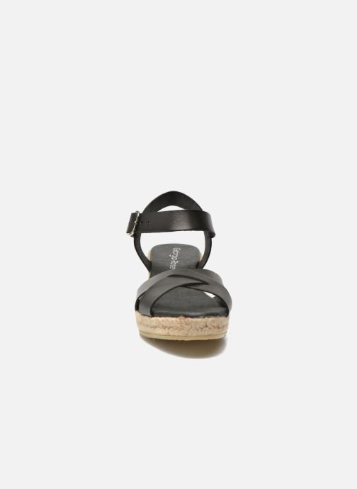 Sandalen Georgia Rose Inof schwarz schuhe getragen