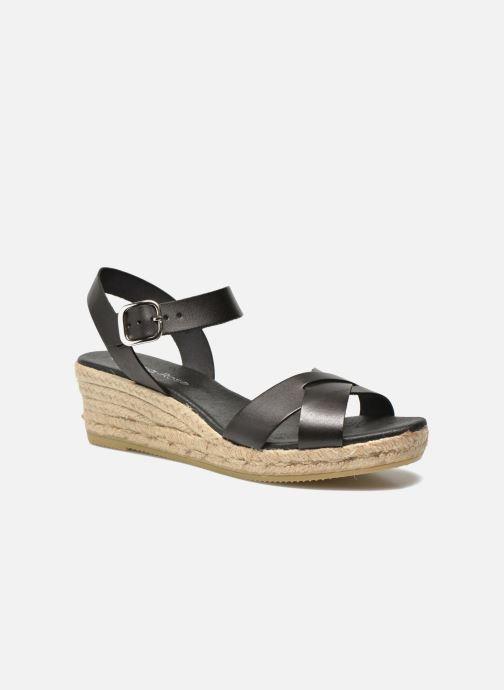 Sandaler Georgia Rose Inof Sort detaljeret billede af skoene