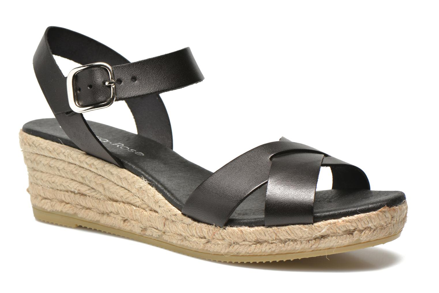 Sandals Georgia Rose Inof Black detailed view/ Pair view