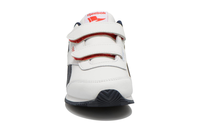 Baskets Reebok Reebok Royal Cljog 2 2V Blanc vue portées chaussures
