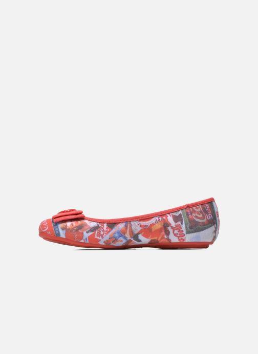 Ballerines Coca-cola shoes Tampinas Multicolore vue face