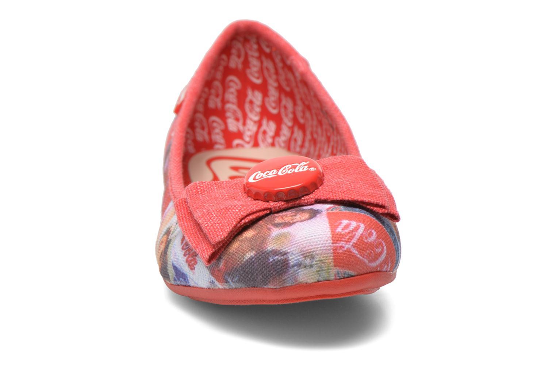 Ballerines Coca-cola shoes Tampinas Multicolore vue portées chaussures