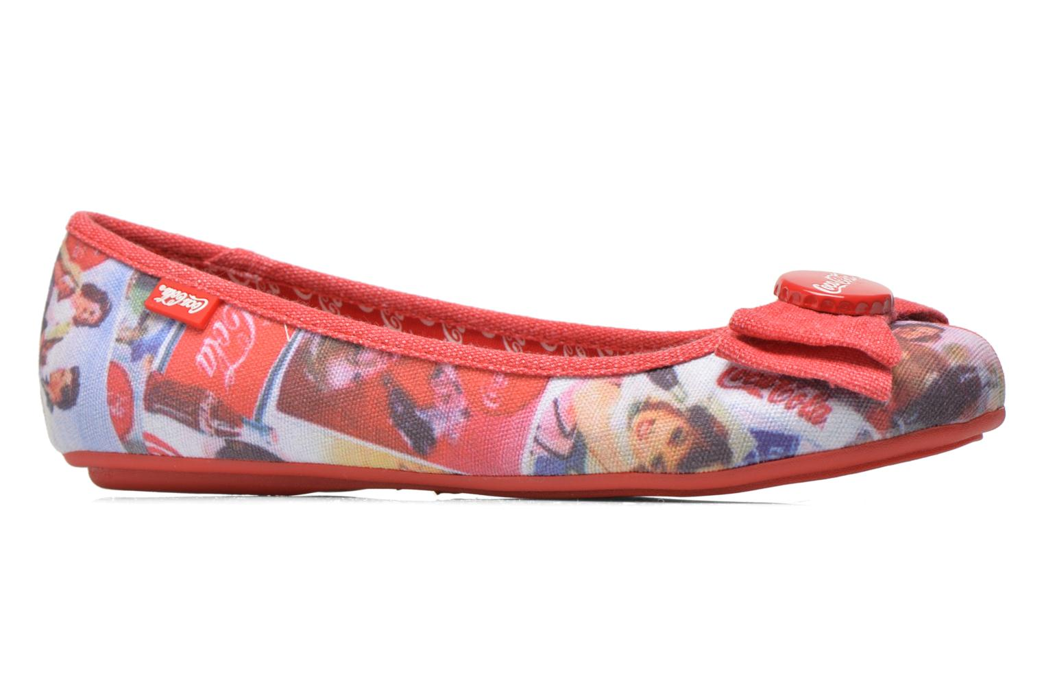 Ballerines Coca-cola shoes Tampinas Multicolore vue derrière