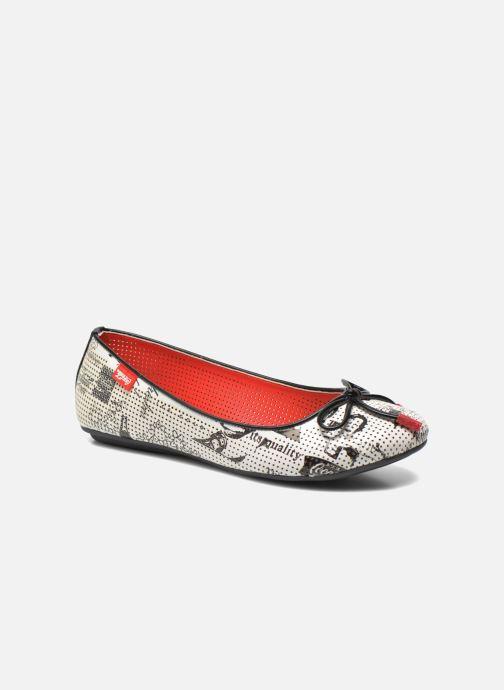 Ballerines Coca-cola shoes Paper Multicolore vue détail/paire