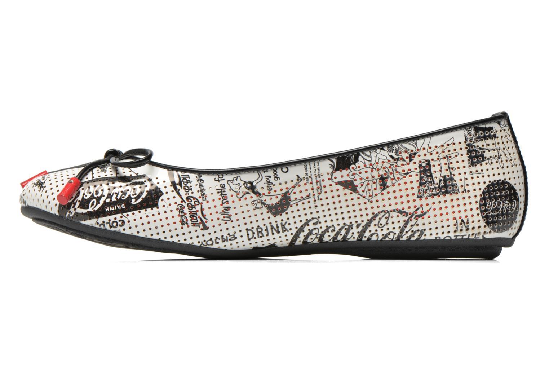 Ballerina's Coca-cola shoes Paper Multicolor voorkant