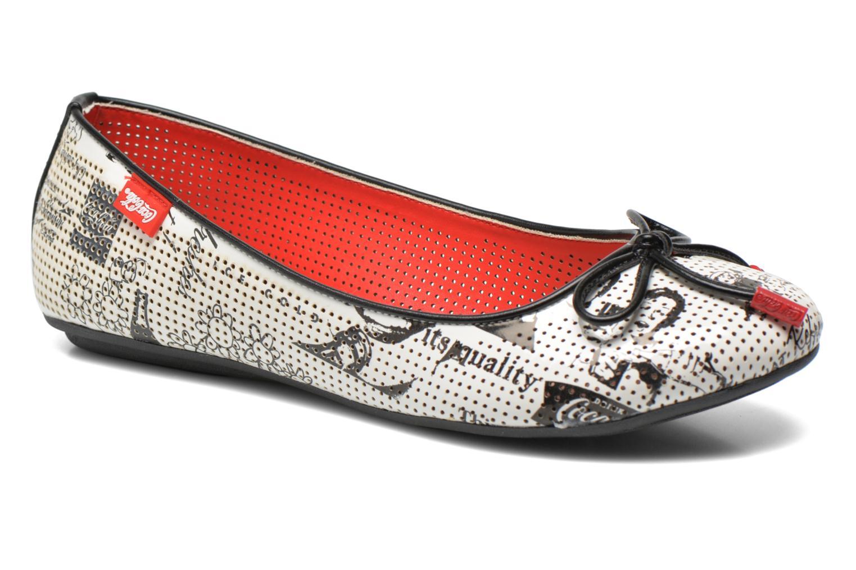 Ballerina's Coca-cola shoes Paper Multicolor detail