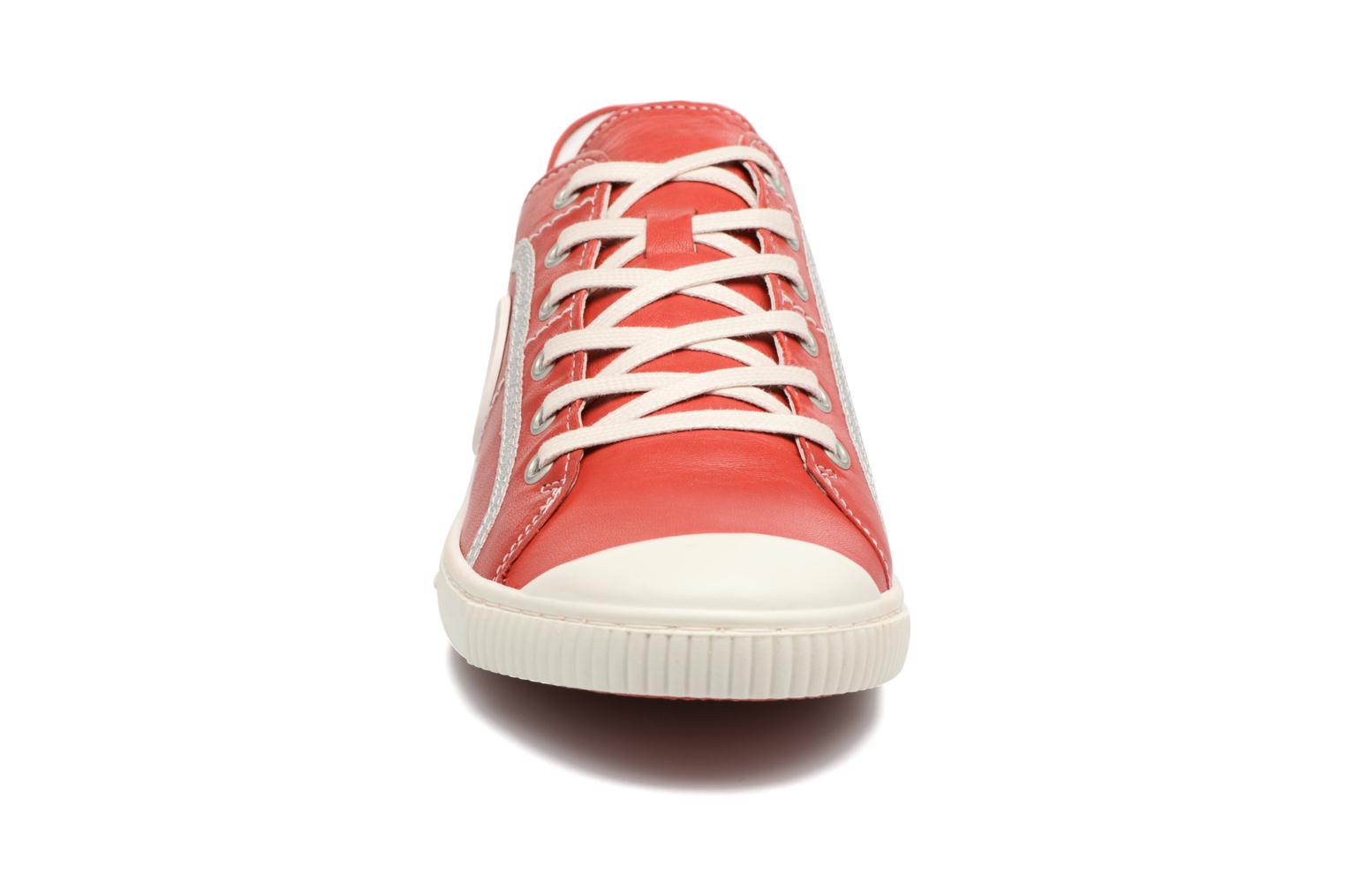 Trainers Pataugas Baheri Red model view