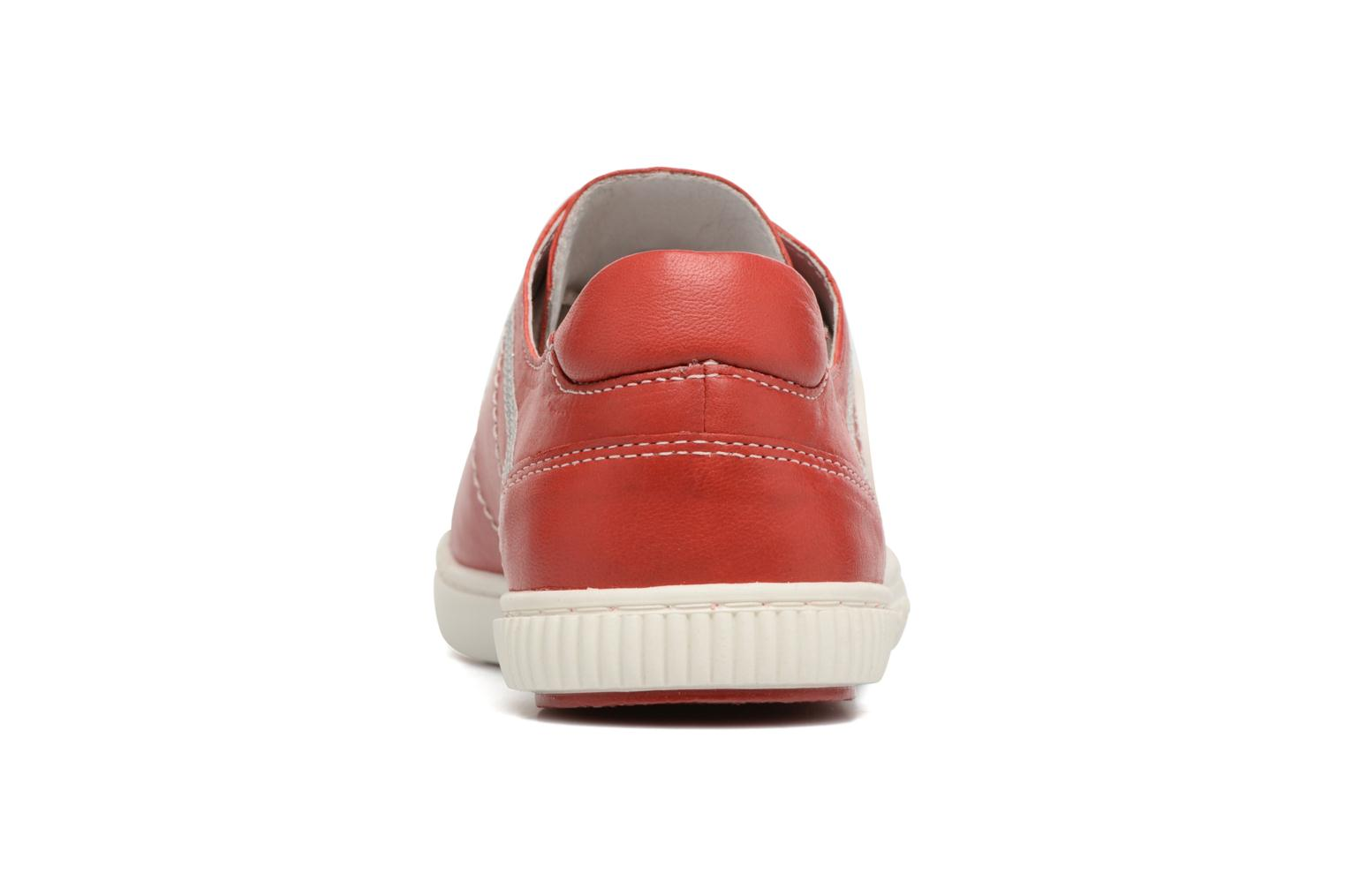 Trainers Pataugas Baheri Red view from the right