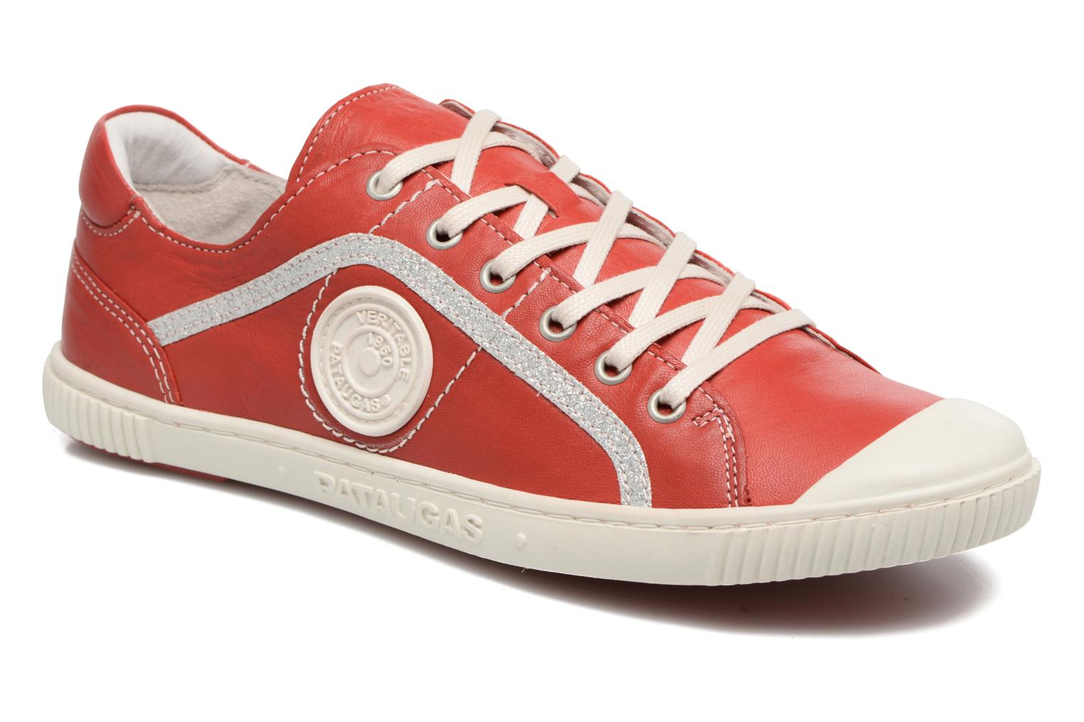 Trainers Pataugas Baheri Red detailed view/ Pair view