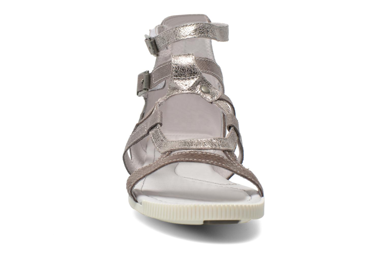 Sandals Pataugas Chance Grey model view