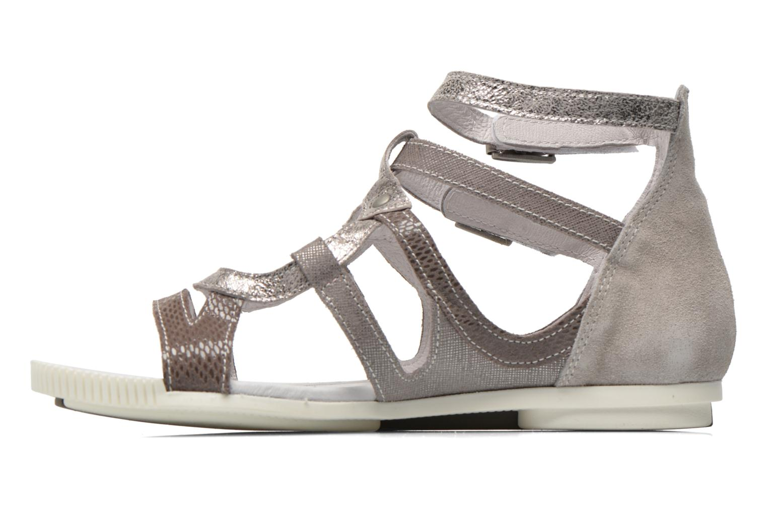 Sandals Pataugas Chance Grey front view